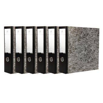 แฟ้ม UD FILE แฟ้มสันกว้าง A4 สัน 3 นิ้ว 690Q จำนวน 6 ชิ้น - สีดำ