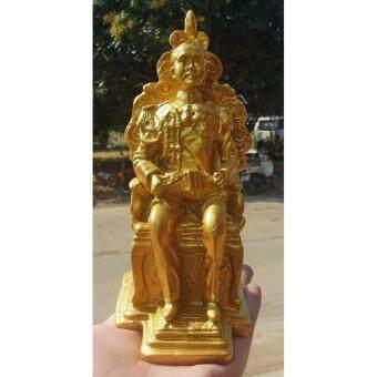 phra mongpol 0086เสด็จพ่อ ร.5.มวลสารแร่เหล็กน้ำพี้..องค์สีทอง