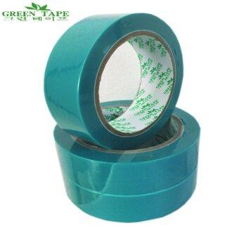 TPS Green Tape บลูเทป PET ขนาด 1 นิ้ว ยาว 50 เมตร แพ็ค 6 ม้วน