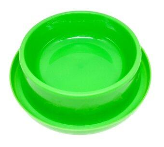 Pet'sVilla ชามกันมด 7 นิ้ว (สีเขียว)