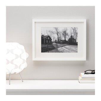 RIBBA กรอบรูป Frame 30*40 cm (ขาว)