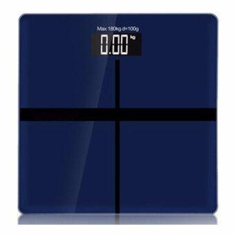 B&G Electronic weight scale เครื่องชั่งน้ำหนักดิจิตอล (Blue) - รุ่น BG-9380