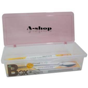 A-shop กล่องใส่ช้อน ส้อม และตะเกียบ พร้อมฝาปิด TablewareBox-R3033-P