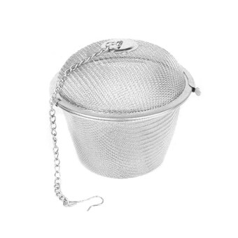 Harga Tea Stainless Strainer Locking Tea Spice Mesh Herbal Ball Diam 4.5cm