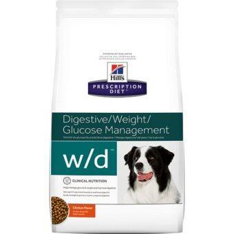 Hill's Science Diet w/d อาหารสุนัข ที่มีปัญหาเรื่องท้องผูก หรือเบาหวาน ขนาด 3.83kg