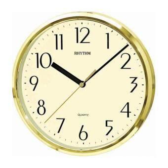 RHYTHM นาฬิกาแขวนพลาสติก รุ่นCMG839AZ18 (Silver)