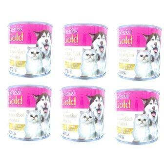 AG-Science นมแพะ แอคซายน์ สำหรับลูกสุนัข และลูกแมว400ml ( 6 units )