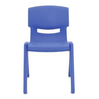 Apex เก้าอี้พลาสติกเอนกประสงค์ สำหรับเด็กโต รุ่น YCX-004 M (สีน้ำเงิน)
