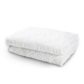 Good Day ผ้าปูรองที่นอนกันเปื้อน ขนาด 6 ฟุต - สีขาว