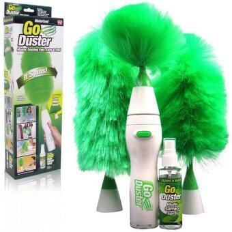 SmilelyGo Duster ไม้ปัดฝุ่น ทำความสะอาด อุปกรณ์ทําความสะอาดบ้าน งานแม่บ้าน Smile0179-greenสีเขียว