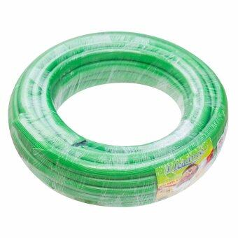 Elegance สายยาง ท่อยาง ฉีดน้ำ สีเขียว 5/8 x 15 เมตร (รุ่น CJ0103)