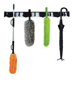 Good Day ที่เก็บอุปกรณ์อเนกประสงค์ Mop & Broom Holder - สีดำ
