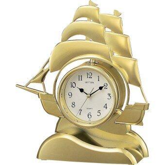 RHYTHM นาฬิกาตั้งโต๊ะ รูปเรือสำเภาทอง รุ่น 4RP705-R18