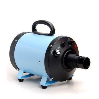 ไดร์เป่าขนสุนัข พลัง turbo (สีฟ้า)