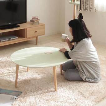 โต๊ะญี่ปุ่น ปรับระดับได้ สำหรับวางของอเนกประสงค์ สีเขียว – Colorful table with height adjustable – green color