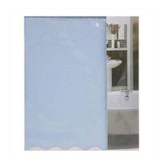 AN&P SHOP ม่านกั้นห้องอาบน้ำ ม่านกั้น PVC ตกแต่งบ้าน ขนาด 180 x 180 CM.
