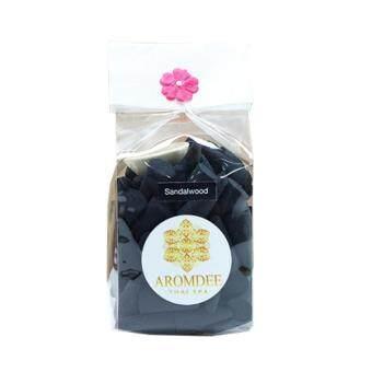 Aromdee cone incenses กำยานหอม อโรม่า กลิ่นไม้จัน ถุงละ 100 เม็ด