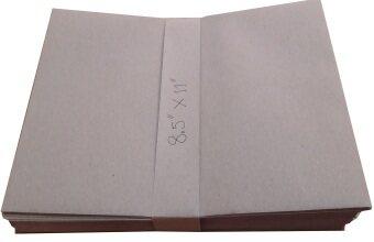 ซองเอกสาร สีน้ำตาล ขนาด กว้าง 8.5 นิ้ว ยาว 11 นิ้ว จำนวน 50 ซอง กระดาษ KB หนา 110 แกรม สำหรับใส่เอกสาร สินค้า สำหรับสำนักงาน