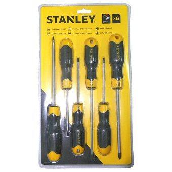 Stanley # 65-242 ชุดไขควง ปากแบน - ปากแฉก 6 ตัวชุด