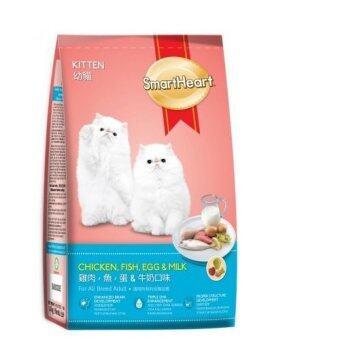 Smartheart Kitten ไก่ ไข่ ปลา และนม 1.1กก.