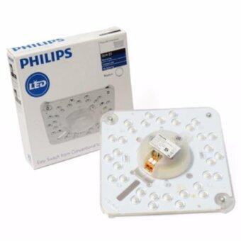 Philips แผงไฟ LED 19 วัตต์ สำหรับโคมเพดานกลม แสงเดย์ไลท์