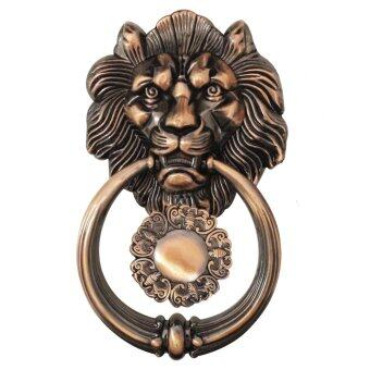Golden Homes หัวสิงห์เคาะประตูทองแดงรมดำ GH-978AC