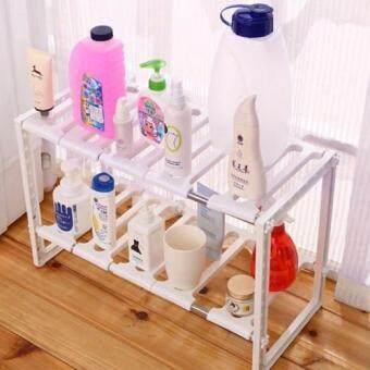 ชั้นวางของอเนกประสงค์ ในห้องน้ำ- สีขาว (White)