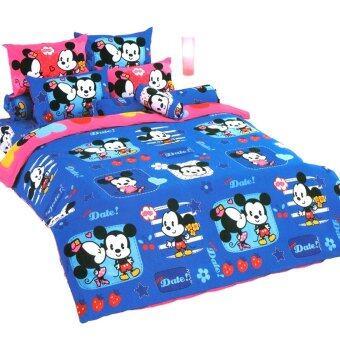 โตโต้ ชุดเครื่องนอน ผ้าปู ลายลิขสิทธิ์ การ์ตูน มิกกี้ คิวตี้ รุ่น CU88 TOTO Mickey Cuties 's Bed Sheet No. CU88