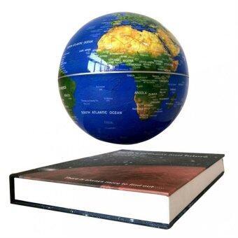 คาถานิ้วแม่เหล็กพลังแม่เหล็กโลกลูกโลกแผนที่-6 หนังสือการตกแต่งบ้านการตกแต่ง (สีน้ำเงิน)