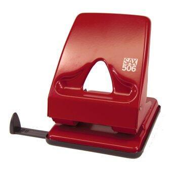 SAX เครื่องเจาะกระดาษ Elegant (XL) รุ่น 506 - Red