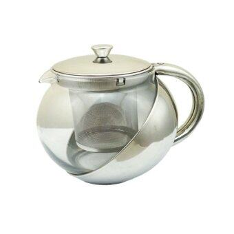 Morning กาชงชา Stainless Steel Pot 900ml - Silver