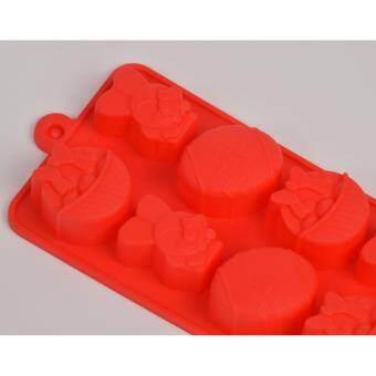 แม่พิมพ์ซิลิโคน เทศกาลอีสเตอร์ ไอคอน Eater icon พิมพ์วุ้น ทำน้ำแข็ง ทำ chocolate food grade