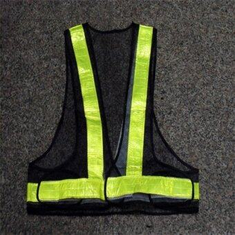 Harga Reflective Vest High Visibility Warning Traffic Construction Safety Gear
