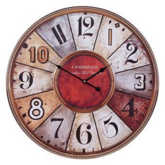 Kristra Home&Decoration 60CM.นาฬิกาแขวนผนัง แนววินเทจ รุ่น T70016