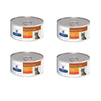 Hill's Science Diet feline k/d อาหารเปียกแมว โรคไต แบบกระป๋อง ( 4 units )