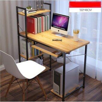 โต๊ะ Loft Style ขนาด1เมตร รุ่นBP217ดำ-เมเปิ้ลK