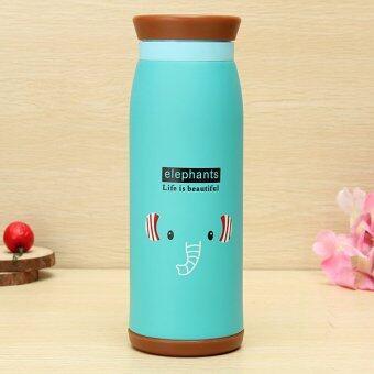 TGhome ขวดน้ำ กระติกน้ำ เก็บร้อนเย็น ช้าง 500 ml