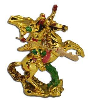 LEE TAI FU กวนอูขี่ม้า