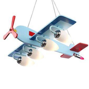 โคมไฟสีรูปเครื่องบิน