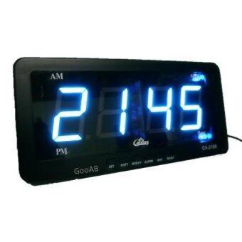 GooAB Shop นาฬิกาปลุก ตั้งโต๊ะ ติดผนัง LED เฉพาะเวลา ขนาด 7 นิ้ว + รับประกัน 6 เดือน