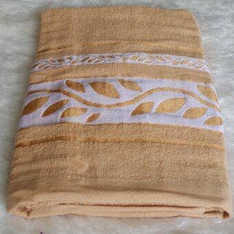 ผ้าขนหนู ผ้าเช็คตัว ผ้ารับไหว้ ผ้าของขวัญ ขนาด30นิ้วx60นิ้ว(จำนวน1ผืน)  012