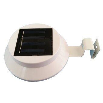โคมไฟโซล่าเซลล์แบบกลม 3 LED (LED ขนาดใหญ่) รุ่น Solar LED 101