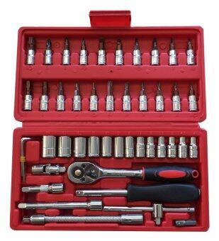 Tools Tienfeng tools ชุดเครื่องมือ ชุดบล็อก 46 ชิ้น
