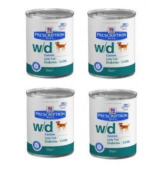 Hill's Science Diet อาหารสุนัข w/d แบบกระป๋อง ขนาด 370g ( 4 units )