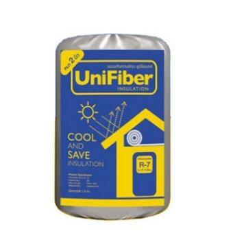 ฉนวนกันความร้อน ยูนิไฟเบอร์ หนา 2 นิ้ว ขนาด 0.6 x 4 เมตร - Unifiber Insulation