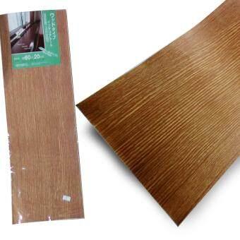 แผ่นลายไม้สติกเกอร์ Wooden Sticker Wallpaper