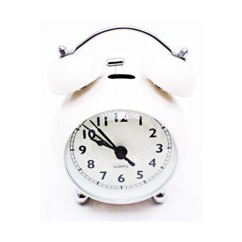 iBettalet นาฬิกาปลุก นาฬิกาตั้งโต๊ะ รุ่น WK-7701-2 ( สีขาว )