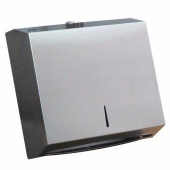 Stainless Tissu dispenser กล่องจ่ายกระดาษทิชชูเช็ดมือ สแตนเลส 0613-012