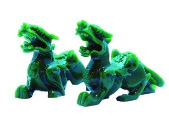 LEE TAI FU ปีเซี้ยะโชคลาภวาสนา ( สีเขียว )
