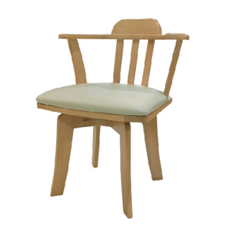 ELEGA Furniture เก้าอี้ รุ่น บันไซ - สีน้ำตาลอ่อน
